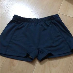 Navy blue BCG Spandex/ Volleyball shorts